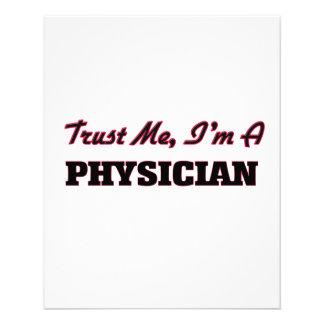 Trust me I'm a Physician Custom Flyer