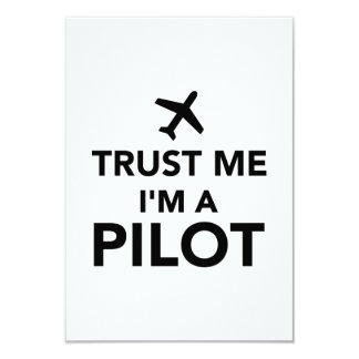 Trust me I'm a Pilot Announcement
