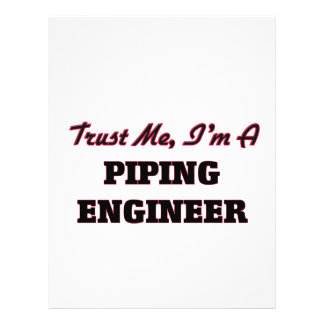 Trust me I'm a Piping Engineer Flyers