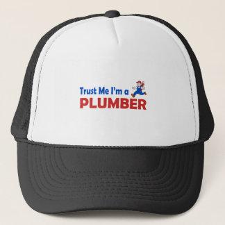 Trust Me I'm a Plumber Trucker Hat