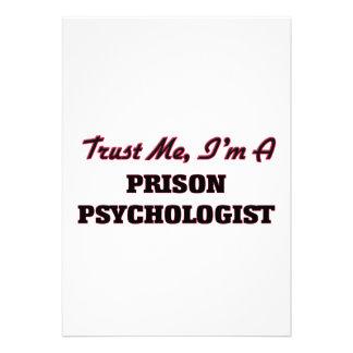 Trust me I'm a Prison Psychologist Invitations