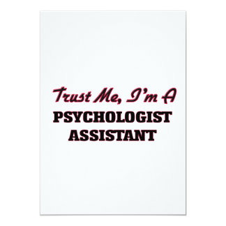 Trust me I'm a Psychologist Assistant Invitation