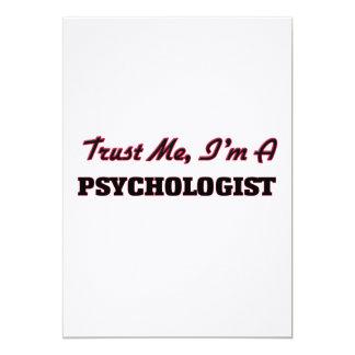 Trust me I'm a Psychologist Invitations