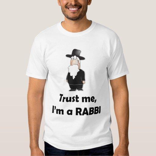 Trust me I'm a rabbi - Funny jewish humour T Shirt
