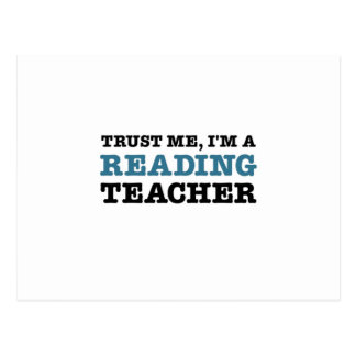 Trust Me, I'm A Reading Teacher Postcard