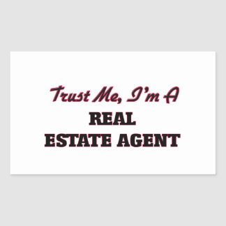 Trust me I'm a Real Estate Agent Stickers