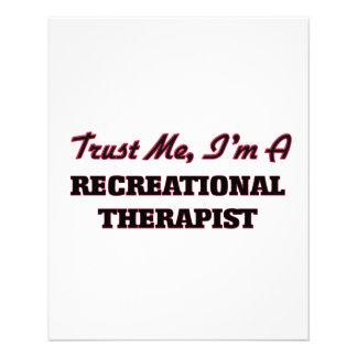 Trust me I'm a Recreational arapist Flyer