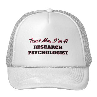 Trust me I'm a Research Psychologist Trucker Hat