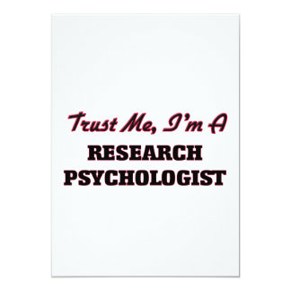 Trust me I'm a Research Psychologist Invitation