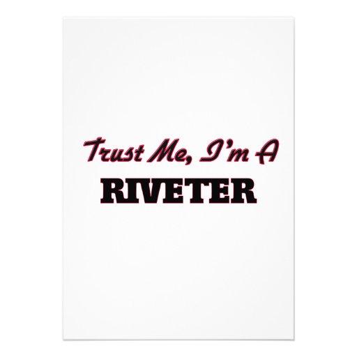 Trust me I'm a Riveter Invitation
