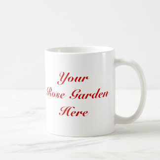 Trust Me I'm A Rosarian Gardener Saying Basic White Mug