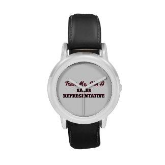 Trust me I'm a Sales Representative Wristwatch