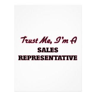 Trust me I'm a Sales Representative Flyer