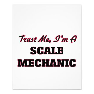 Trust me I'm a Scale Mechanic Full Color Flyer