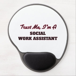 Trust me I'm a Social Work Assistant Gel Mouse Pads