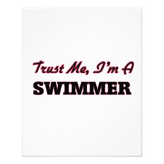 Trust me I'm a Swimmer Flyers