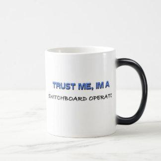 Trust Me I'm a Switchboard Operator Mugs