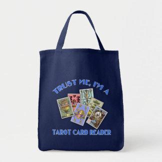 Trust Me I'm a Tarot Card Reader Canvas Bags