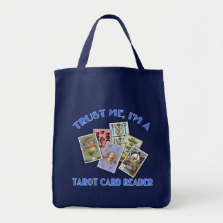 Trust Me I'm a Tarot Card Reader Tote Bag