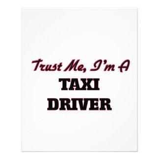 Trust me I'm a Taxi Driver Flyers