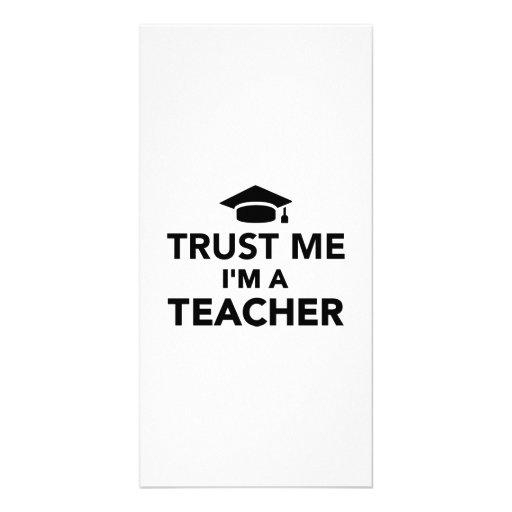 Trust me I'm a Teacher Picture Card