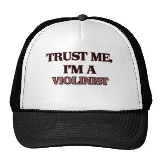 Trust Me I'm A VIOLINIST Trucker Hat
