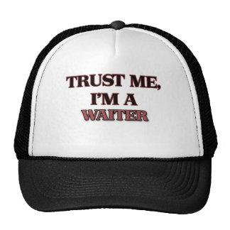 Trust Me I'm A WAITER Trucker Hat