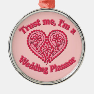 Trust Me, I'm a Wedding Planner Gifts Christmas Ornament