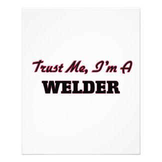 Trust me I'm a Welder Flyers