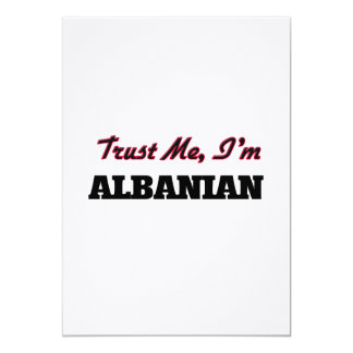 Trust me I'm Albanian Cards