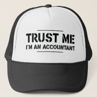 Trust Me, I'm an Accountant Trucker Hat
