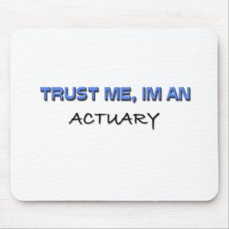 Trust Me I'm an Actuary Mouse Mat