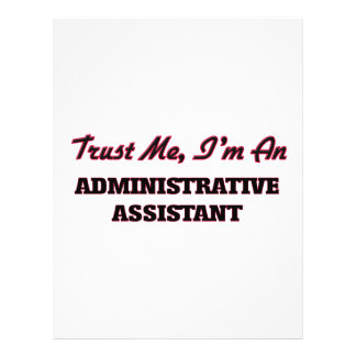 Trust me I'm an Administrative Assistant Flyer