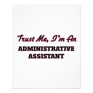 Trust me I'm an Administrative Assistant Custom Flyer