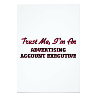 Trust me I'm an Advertising Account Executive Card