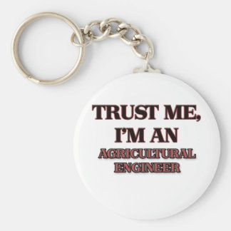 Trust Me I'm an Agricultural Engineer Key Ring