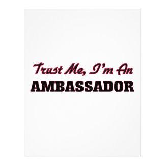 Trust me I'm an Ambassador Custom Flyer