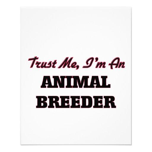 Trust me I'm an Animal Breeder Custom Flyer