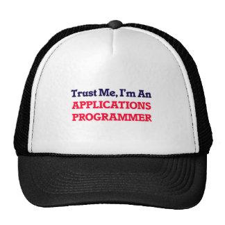 Trust me, I'm an Applications Programmer Cap