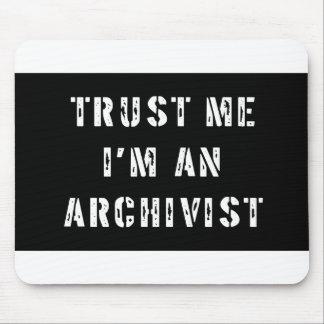 Trust Me I'm An Archivist Mouse Mat