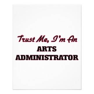 Trust me I'm an Arts Administrator Flyer