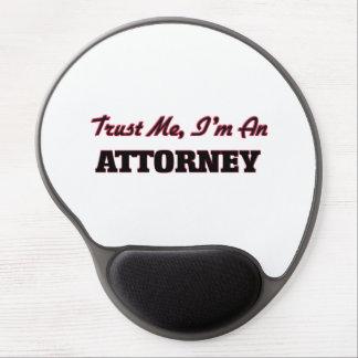 Trust me I'm an Attorney Gel Mousepad