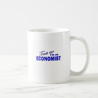 Trust Me I'm an Economist Coffee Mugs