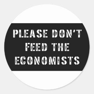 Trust Me I'm an Economist Round Sticker