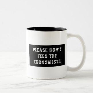 Trust Me I'm an Economist Two-Tone Mug