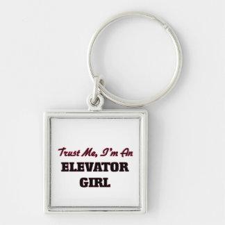 Trust me I'm an Elevator Girl Keychains