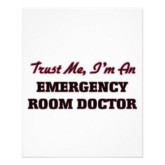 Trust me I'm an Emergency Room Doctor Flyer Design
