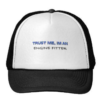 Trust Me I'm an Engine Fitter Mesh Hat