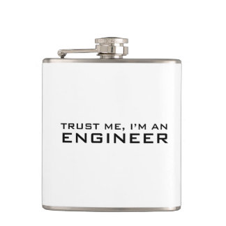 Trust me, i'm an engineer hip flask