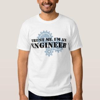 Trust Me I'm An Engineer Shirts